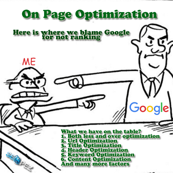 Five Teachings That Could Empower Your Organization When Picking a On Page Optimization