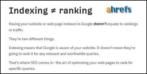 How to SEO for indexing